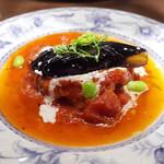 欧風バル・マザン - 若鶏の香草入トマトソース煮(980円)