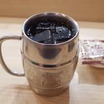 コメダ珈琲店 - たっぷりアイスコーヒー(520円)