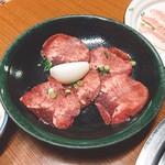 焼肉 鉄輪苑 - タン塩(600円)【平成29年5月19日撮影】