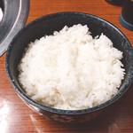 焼肉 鉄輪苑 - ライス 中(210円)【平成29年5月19日撮影】