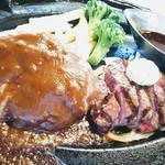 肉の万世 - ハンバーグ&ヒレステーキ