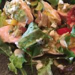 ガニュ・パン - 鶏胸肉のロースト(´∀`*)野菜のサルサ