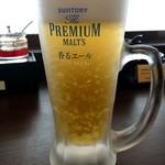 肉餃子専門店 THE GYO - ランチビール