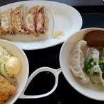 肉餃子専門店 THE GYO - デラックス餃子ランチ