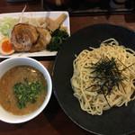 七菜矢 - つけ麺 全部のせ 1,200円