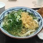 丸亀製麺 - かけうどん(冷)