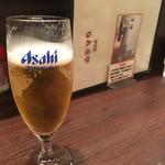 グリルらんぷ亭 - グラスビール