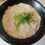 ラーメン並木 - 【白湯ラーメン】480円 麺の硬さ普通