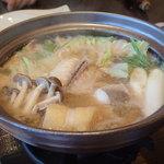 ニセコアンヌプリ温泉湯心亭 - あんこう鍋