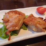 ニセコアンヌプリ温泉湯心亭 - 鶏ステーキ
