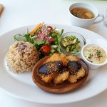 Rotacafe - 料理写真:ワンプレートランチ! 美味しかった :)