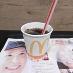 マクドナルド - アイスコーヒー