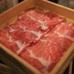 しゃぶ葉 - 三元豚ロース