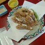 さかな屋 撰鮮 - ホタルイカの天ぷら