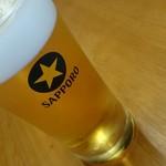 さかな屋 撰鮮 - 生ビール