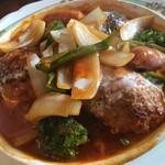 洋食や とんちんかん - トマトソース煮ハンバーグ 250g