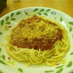 サイゼリヤ - ミートソーススパゲティ