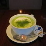 kawara CAFE&DINING + plus - 抹茶ラテ