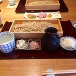 蕎麦あさ田 - 辛味おろしせいろ950円