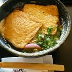 手打麺処 夢屋 - 料理写真:きつねうどん600円