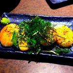 水炊き・焼き鳥 とりいちず - 山芋の磯焼¥399 2017.3.21
