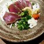 梅乃宿温酒場 - 鰹たたき