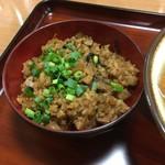 きしもと食堂 - じゅーしー270円催事価格