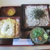 三河屋 - 料理写真:ざるかつ重