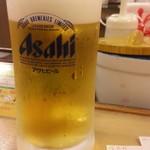 松屋 - 生ビール小150円