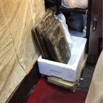 もつ焼 まるい - 俎板の管理
