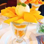 ザ・東京フルーツ パーラー - ゴールドクイーンパフェ