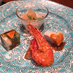 華都飯店 - 料理写真:コース前菜