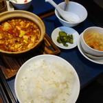 包龍 - 四川土鍋麻婆豆腐(ランチ)