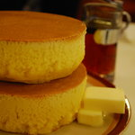 イワタコーヒー店 - ホットケーキ。
