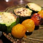 遊 - 野菜串も美味っ!