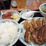 67290256 - ダブル餃子定食¥620