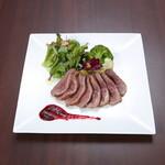 Organic Restaurant Seta - 山形県産庄内鴨のロースト