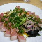 川島しょう店 - 鮪トロ炙り