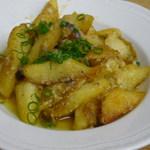 川島しょう店 - 料理写真:フライドポテトアンチョビソース