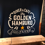 DINER&CAFE The GOLDEN☆HAMBURG - 看板