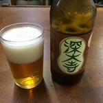 玉乃屋 - 深大寺地ビールがあったとは!