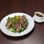 Organic Restaurant Seta - (ランチ)ローストビーフサラダプレート