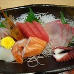 ぽわそん - 料理写真:刺身定食の刺身