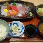 ぽわそん - 刺身定食2