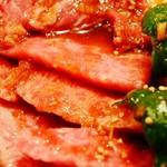 YAZAWA - 焼き肉プレート200g(カルビ・ハラミ・ロース)