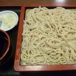 松かど - '17/05/20 もりそば(500円)