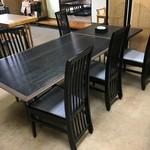 竹之里 - (内観)4名テーブル席