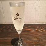 あさり食堂 - ランチスパークリングワイン(350円)