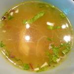ブリ・マデ - スープ