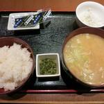 和食処 天きん - ・「豚汁定食(\530)」